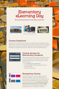 Elementary eLearning Day