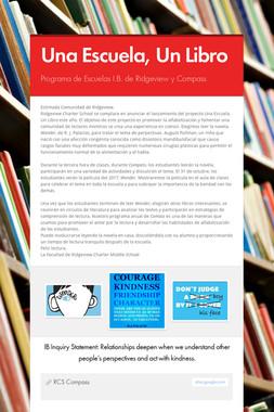 Una Escuela, Un Libro