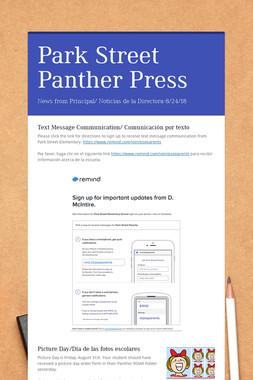 Park Street Panther Press