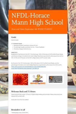 NFDL-Horace Mann High School