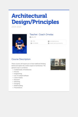 Architectural Design/Principles