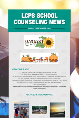 LCPS School Counseling News