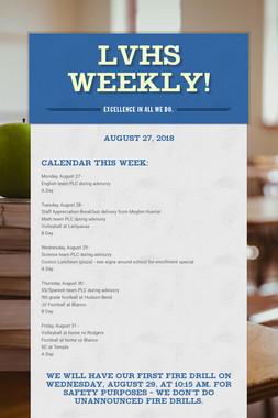 LVHS Weekly!