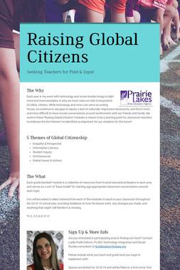 Raising Global Citizens