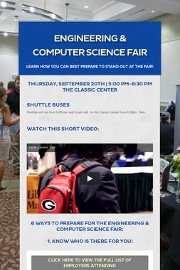Engineering & Computer Science Fair
