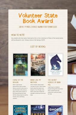Volunteer State Book Award