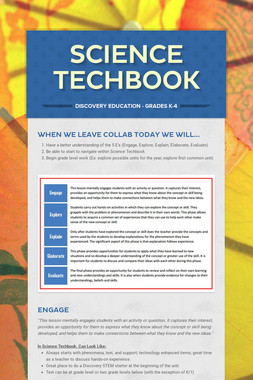 Science Techbook