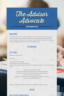 The Advisor Advocate