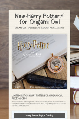 New-Harry Potter⚡️ for Origami Owl