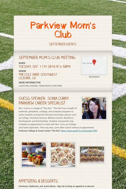 Parkview Mom's Club