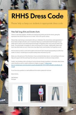 RHHS Dress Code