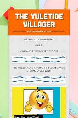 The Yuletide Villager