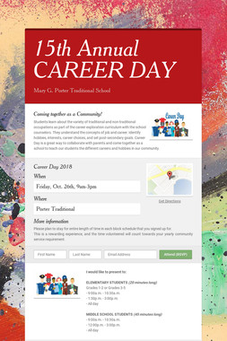 15th Annual CAREER DAY