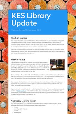 KES Library Update