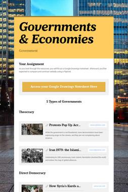 Governments & Economies