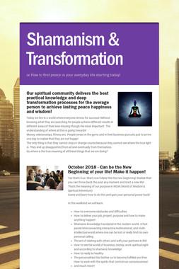Shamanism & Transformation