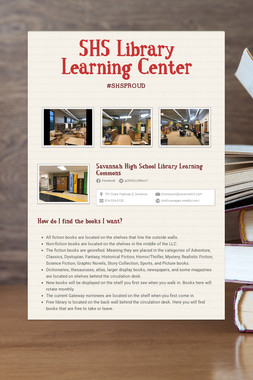SHS Library Learning Center