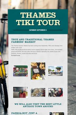Thames Tiki Tour
