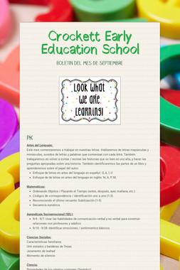 Crockett Early Education School