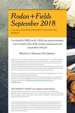 Rodan+Fields September 2018