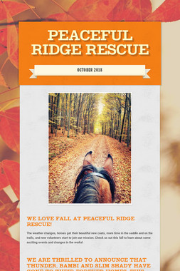 Peaceful Ridge Rescue