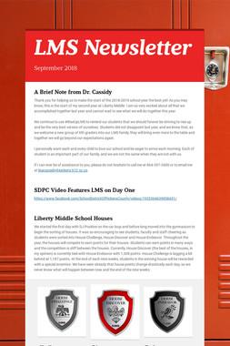 LMS Newsletter