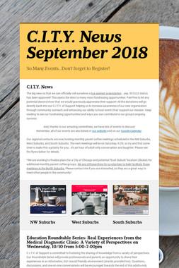 C.I.T.Y. News September 2018