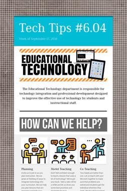 Tech Tips #6.04