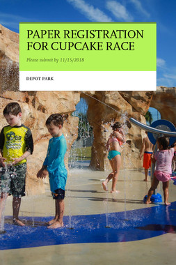 PAPER REGISTRATION FOR CUPCAKE RACE