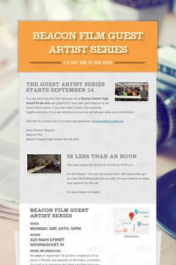 Beacon Film Guest Artist Series
