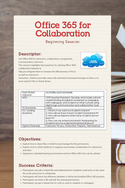 Office 365 for Collaboration