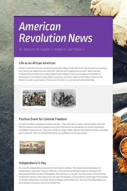 American Revolution News