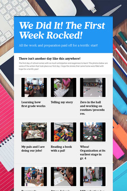 We Did It!  The First Week Rocked!