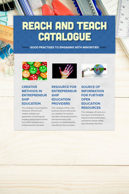 REACH AND TEACH CATALOGUE