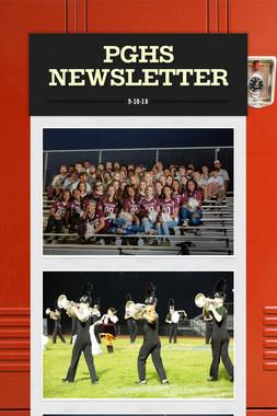 PGHS Newsletter