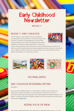 Early Childhood Newsletter