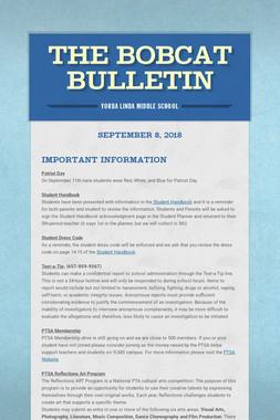 The Bobcat Bulletin
