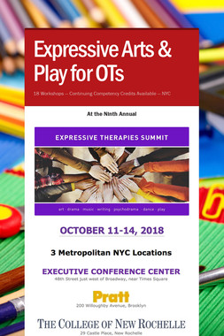 Expressive Arts & Play for OTs