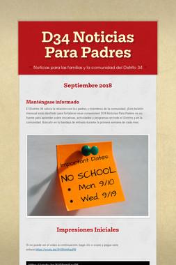 D34 Noticias Para Padres