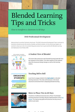 Blended Learning Tips and Tricks