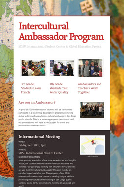 Intercultural Ambassador Program