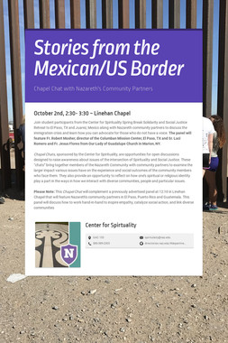 Stories from the Mexican/US Border