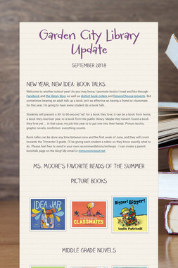 Garden City Library Update