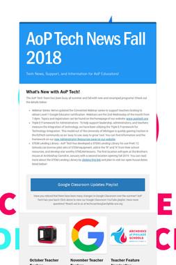 AoP Tech News Fall 2018