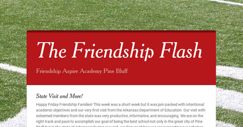 The Friendship Flash | Smore Newsletters for Education