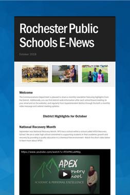 Rochester Public Schools E-News