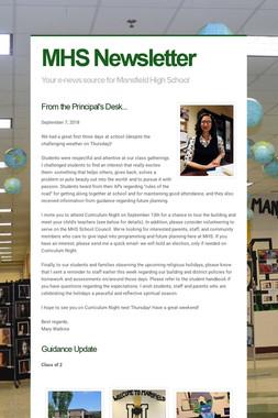 MHS Newsletter