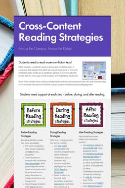 Cross-Content Reading Strategies