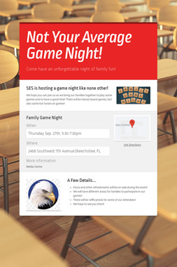 Not Your Average Game Night!