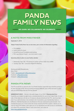 Panda Family News